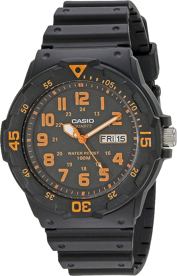 [カシオ]CASIO スタンダード アナログウォッチ MRW-200H-4BV メンズ オレンジ[逆輸入品]