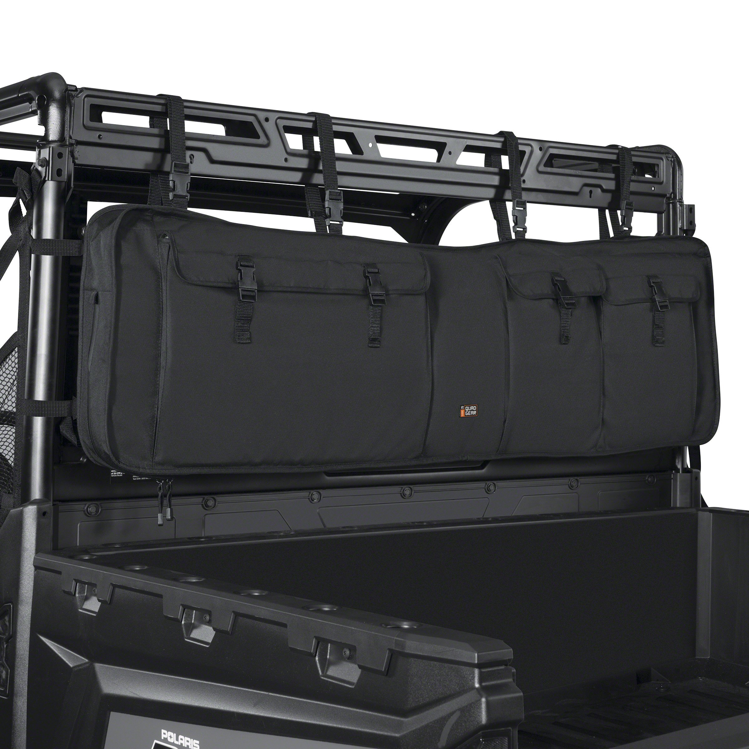 Classic Accessories 18-129-010401-00 Black QuadGear UTV Double Gun Carrier (For Most UTV Roll Cages) by Classic Accessories