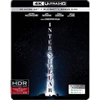 Interstellar (Steelbook) (4K UHD + Blu-ray + Blu-ray Bonus Disc) (3-Disc)