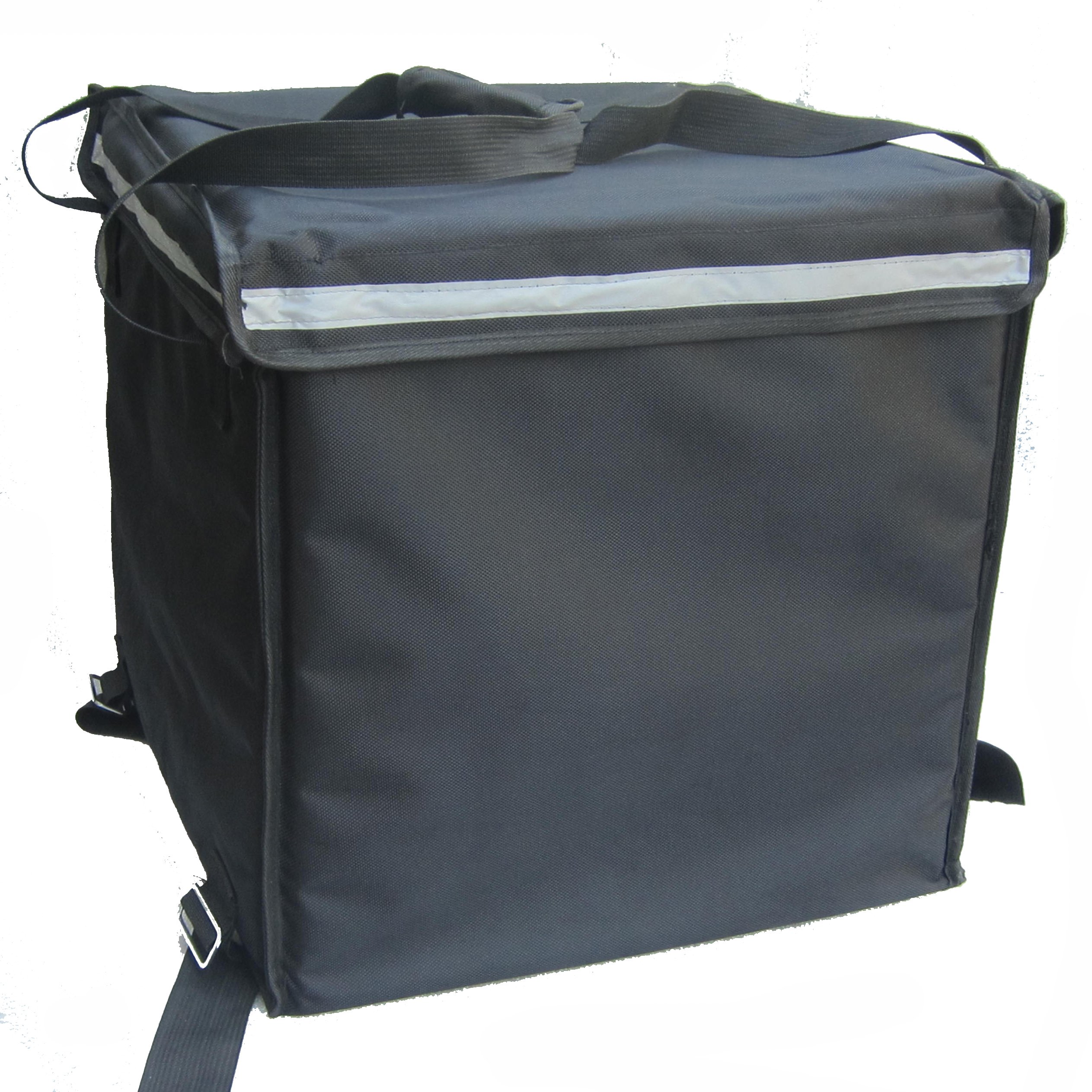 PK-92V: Large Rigid Heavy Duty Food Delivery Box for Motorcycle, Top Loading, 18'' L x 18'' W x 18'' H