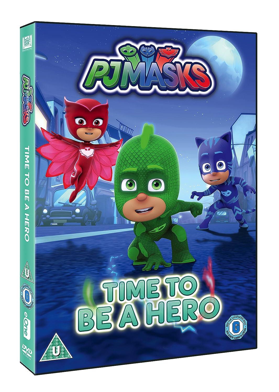 Pj Masks: Time To Be A Hero [Edizione: Regno Unito] [Reino Unido] [DVD]