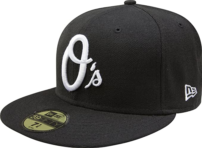 3 Black Fitted Size 7 3//8 Baseball Caps Hats Cap Hat Value Pack