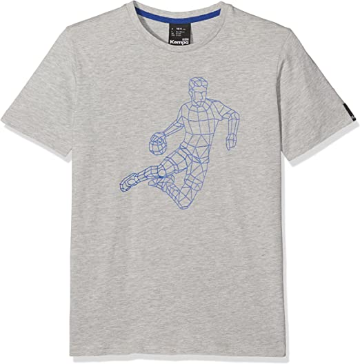 TALLA M. Kempa Polygon Player Camiseta Casual, Hombre