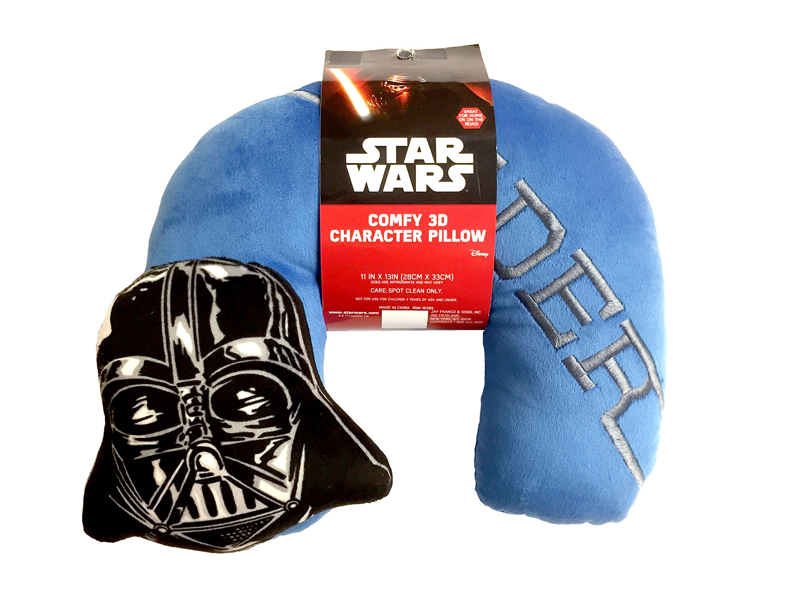 Star Wars Darth Embroidered Neck Pillow