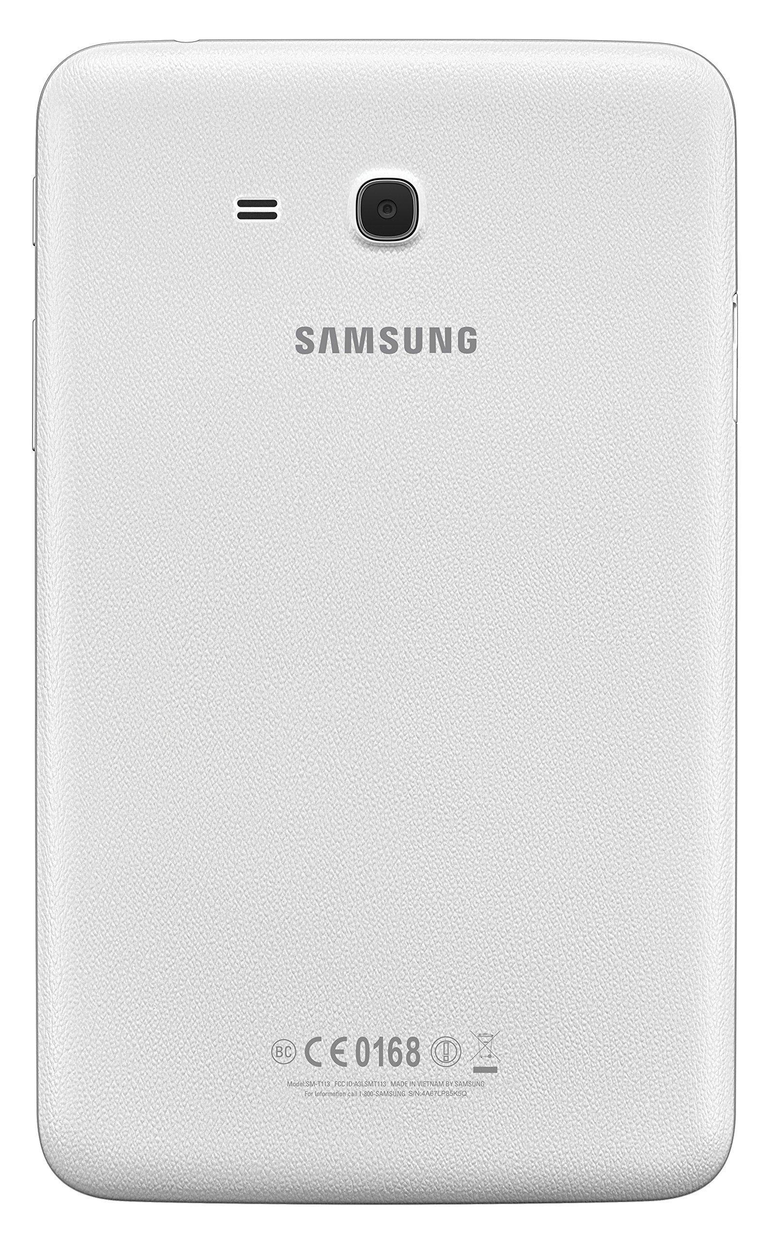 Samsung Galaxy Tab E Lite 7''; 8 GB Wifi Tablet (White) SM-T113NDWAXAR by Samsung (Image #6)