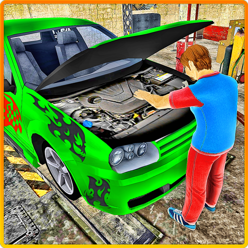 Car Mechanic Auto Workshop 3D - Shops Branded