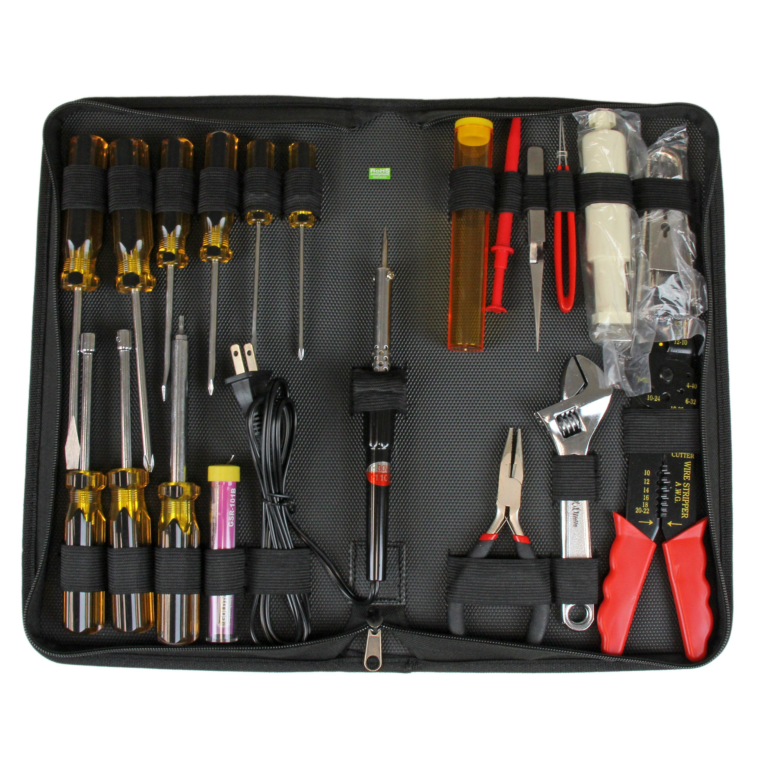 StarTech.com 19 Piece Computer Took Kit in a Carrying Case - Tool kit - CTK500 by StarTech