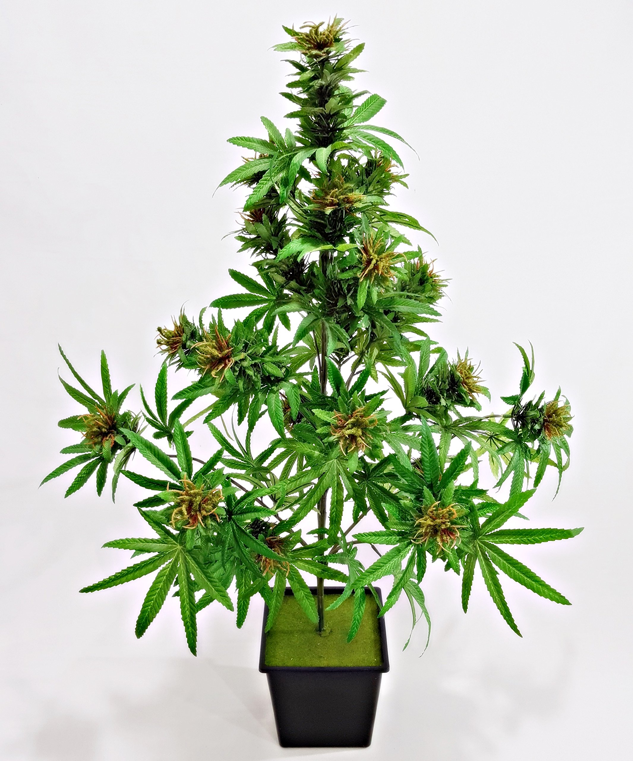 Cannabis Plant With Beautiful Buds Artificial Marijuana