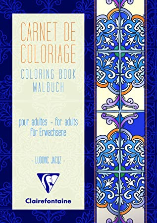 Coloriage Adulte Blanc.Clairefontaine Clairefontaine 97512c Un Carnet De Coloriage Adulte