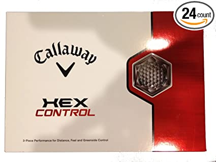 Amazon.com: Callaway Hex Control Golf Balls - Box of 24 ...