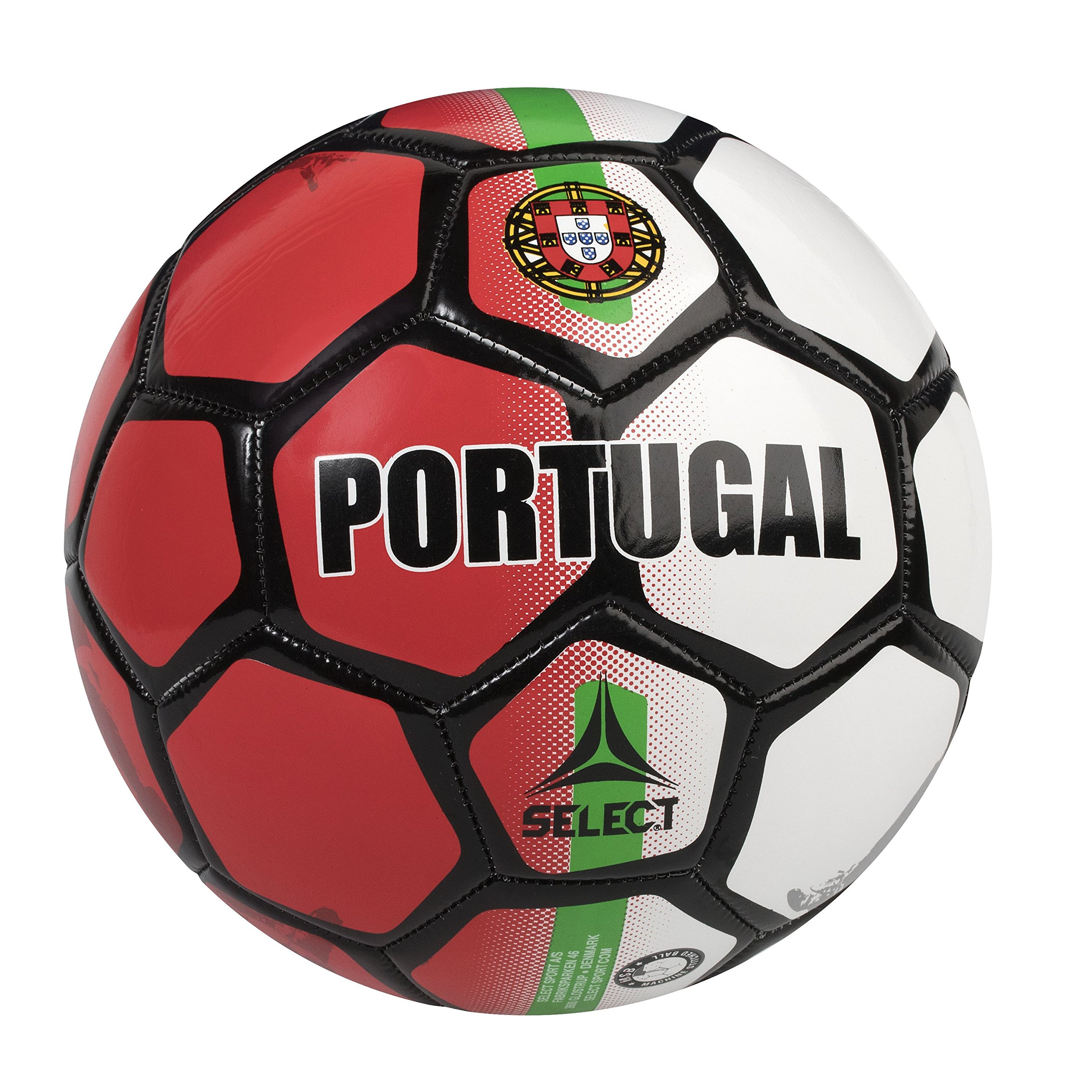 SELECT Portugal World Cup Country Soccer Ball - Skills Ball - 47 cm