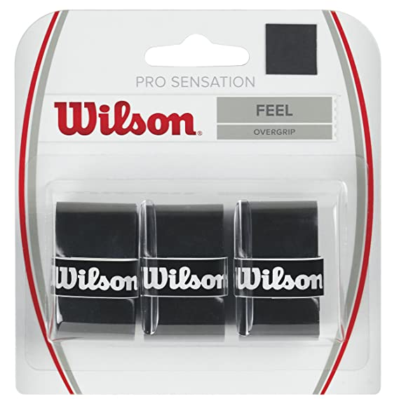 Wilson Sensation Pro Tennis Racquet Over Grip Tennis Racquet Grips at amazon