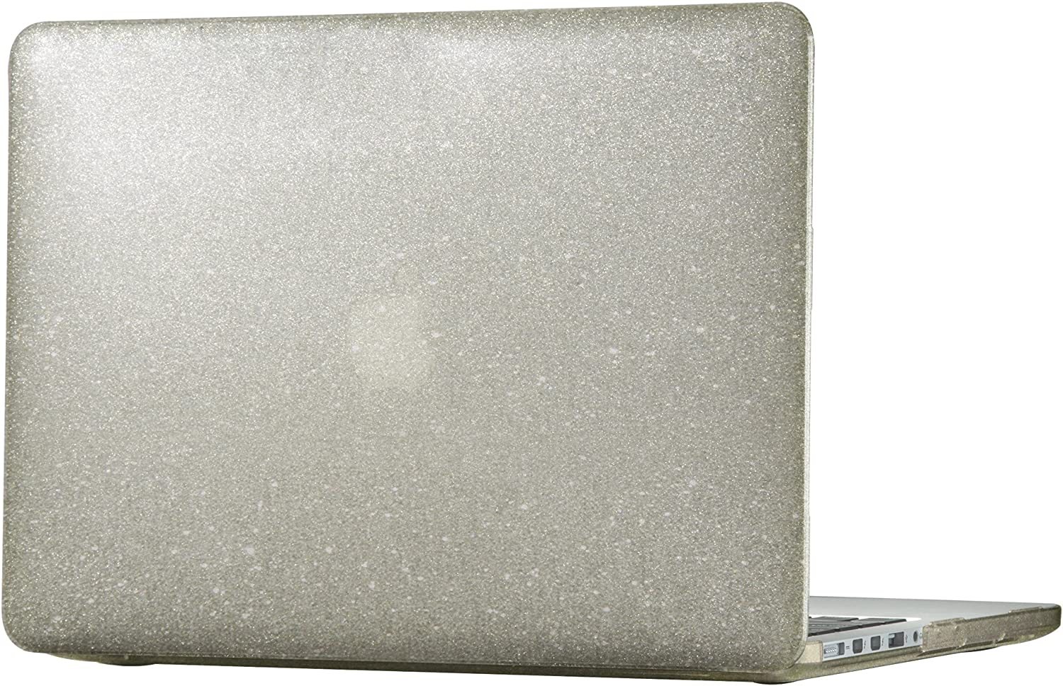 "Speck Products 86400-5636 SmartShell Case for MacBook Pro 13"" with Retina Display, Clear with Gold Glitter"