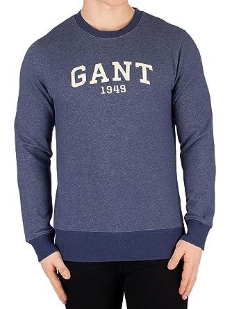 GANT Herren Bogen Logo Sweatshirt 1949, Blau: