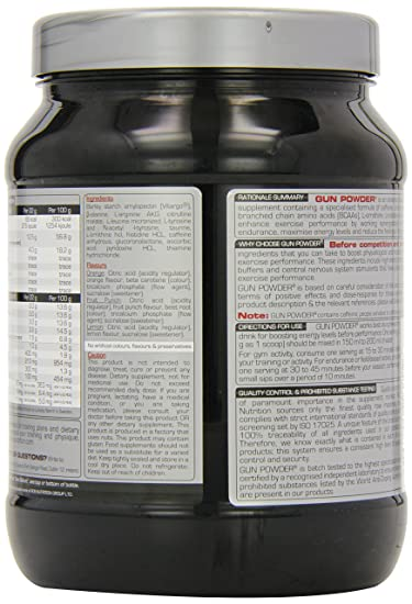 Gunpowder supplement