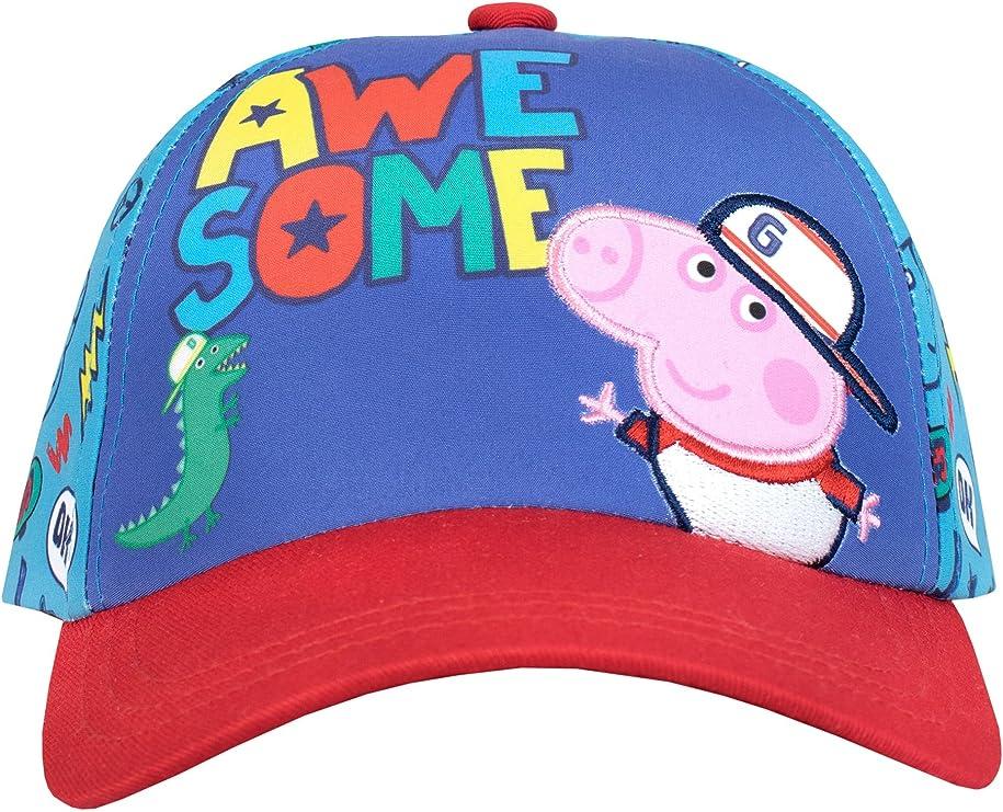 Peppa Pig Gorra para niño George Pig Talla única: Amazon.es: Ropa ...