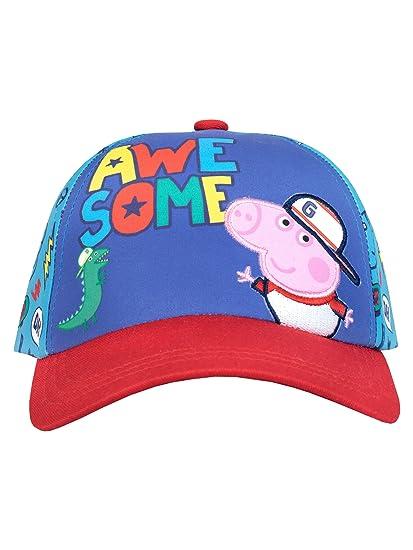 Amazon.com  Peppa Pig Boys  George Pig Baseball Cap One Size  Clothing 866ed745cf0
