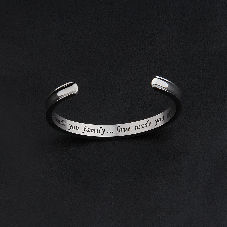Zuo Bao Daughter in Law Gift Hair Tie Bracelet Love Made You My Daughter Bracelet Daughter in Law Bracelet