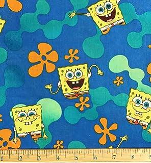 Amazon.com: 1 yard – Spongebob Squarepants