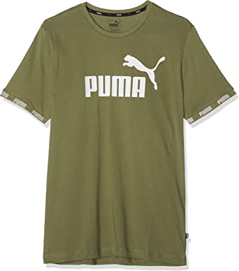 PUMA Amplified Big Logo tee Camiseta, Hombre: Amazon.es: Ropa y ...