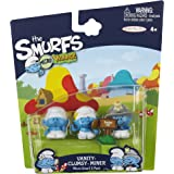 SMURFS 2 Micro Figure 3 Pack: Clumsy, Vanity & Miner