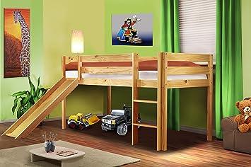 Etagenbett Mit Rutsche Und Treppe : Kinder etagenbett gebraucht etagenbetten rutsche