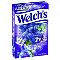 Welch's Singles To Go Water Drink Mix - Grape Powder Sticks (12 Boxes with 6 Packets...