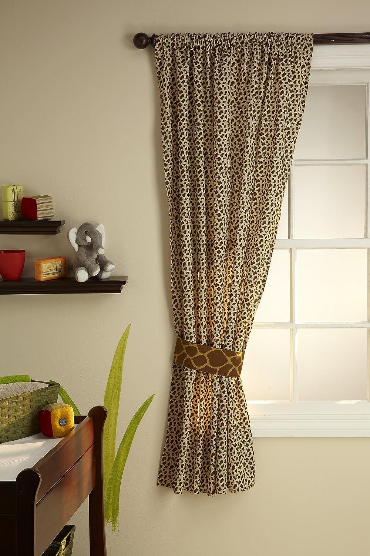 Amazon.com : NoJo Little Bedding Window Panel, Jungle Dreams : Baby Nursery  Window Treatments : Baby