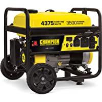 Champion Power Equipment 100522 Portable Generator, Black/Yellow