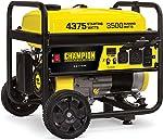 Champion Power Equipment 100522 4375/3500-Watt RV Ready Portable Generator with Wheel