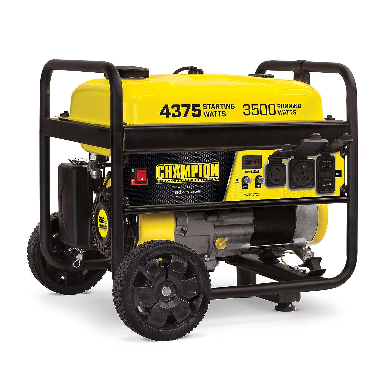 Champion Power Equipment 100522 Portable Generator, 3500-Watt, Updated Model