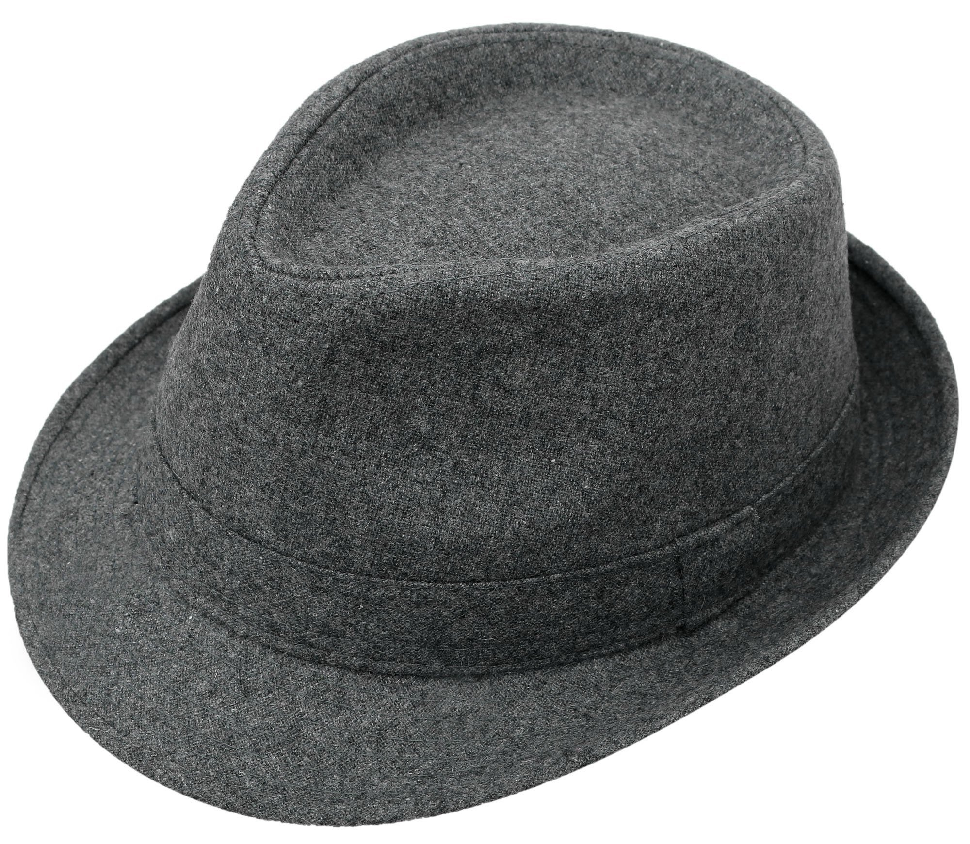 KEA KEA Vintage Unisex Fedora Hat Classic Timeless Lightweight Fedora Hat Grey by KEA KEA (Image #1)