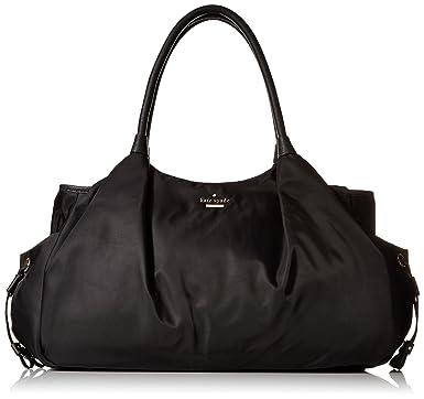 1bb554022ae0 Amazon.com: kate spade new york Classic Nylon Stevie Baby Shoulder Bag,  Black, One Size: Kate Spade: Clothing