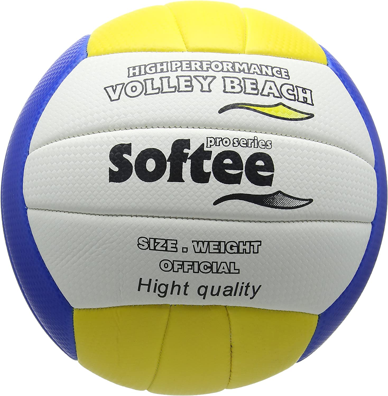 Softee Equipment 0002101 Balón Volleybeach, Unisex, Blanco, S ...