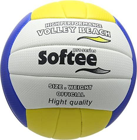 Softee Equipment 0002101 Balón Volleybeach, Unisex, Blanco, S ...