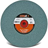 CGW 8 x 1 x 1-1/4 T1 GC80-I-V Bench Wheel Green Silicon Carbide One Wheel Per Lot