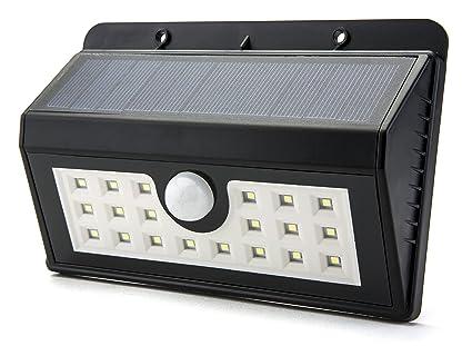 Opul lampada a energia solare da parete con sensore di movimento