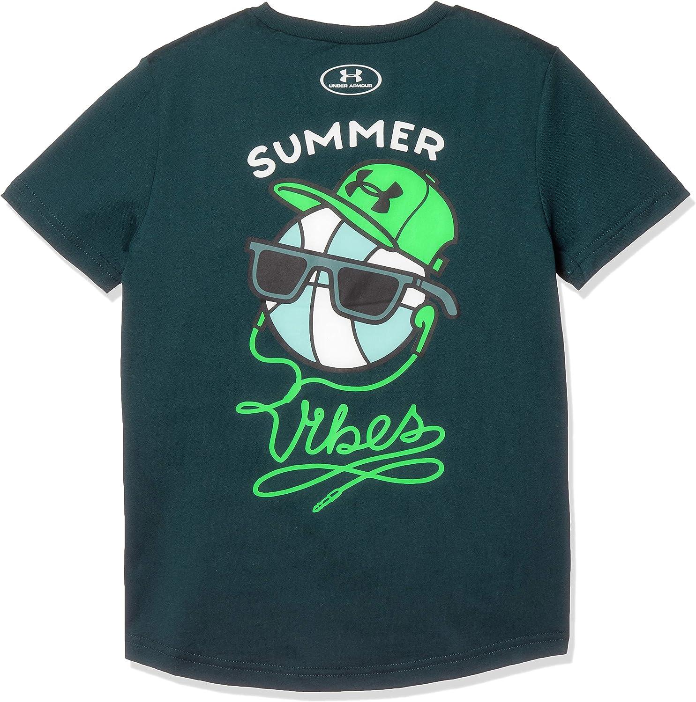 Under Armour Boys Summer Vibes Short Sleeve