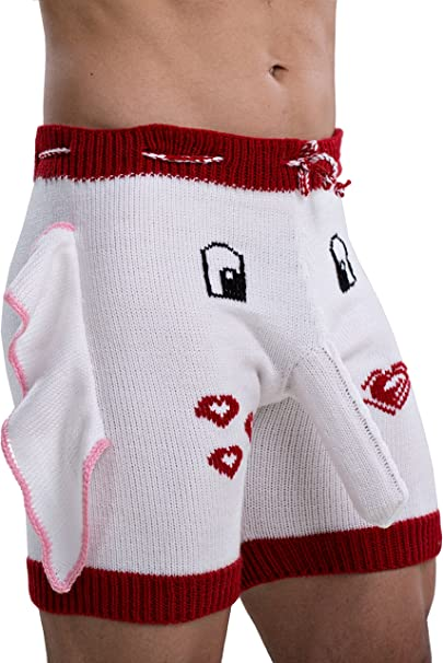 Hold me Tight and Never let go Novelty Item. Innovative Gift Birthday Present   Cool Boxer Briefs