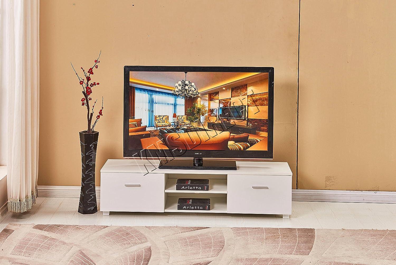FoxHunter Modern High Gloss MDF TV Cabinet Unit Stand: Amazon.co.uk:  Electronics