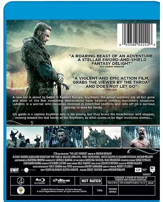 Amazon.com: The Last Warrior [Blu-ray]: Aleksey Faddeev ...
