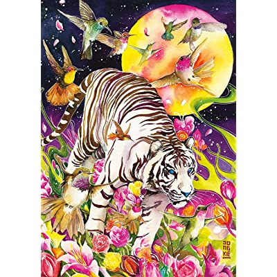 Buffalo Games - Art of Play Collection - Tiger Moon - 500 Piece Jigsaw Puzzle: Toys & Games