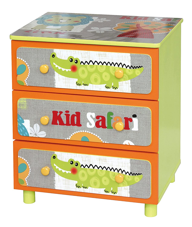 Liberty House Toys TF4801Kid Safari 7, 6cm cassettiera