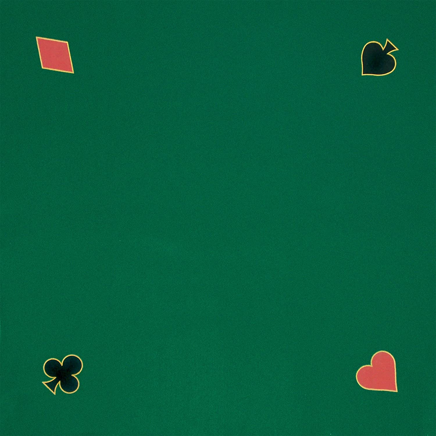 Amazon.com : Trademark Poker Green Playing Felt 40 Inch X 40 Inch : Poker  Tables : Sports U0026 Outdoors