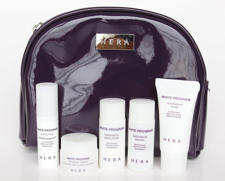 HeraWhite Program Skincare Travel Kit 5 pcs & Pouch Set