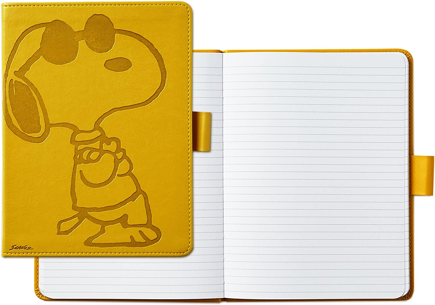 Hallmark Peanuts Hardcover Journal with Lined Pages (Snoopy)