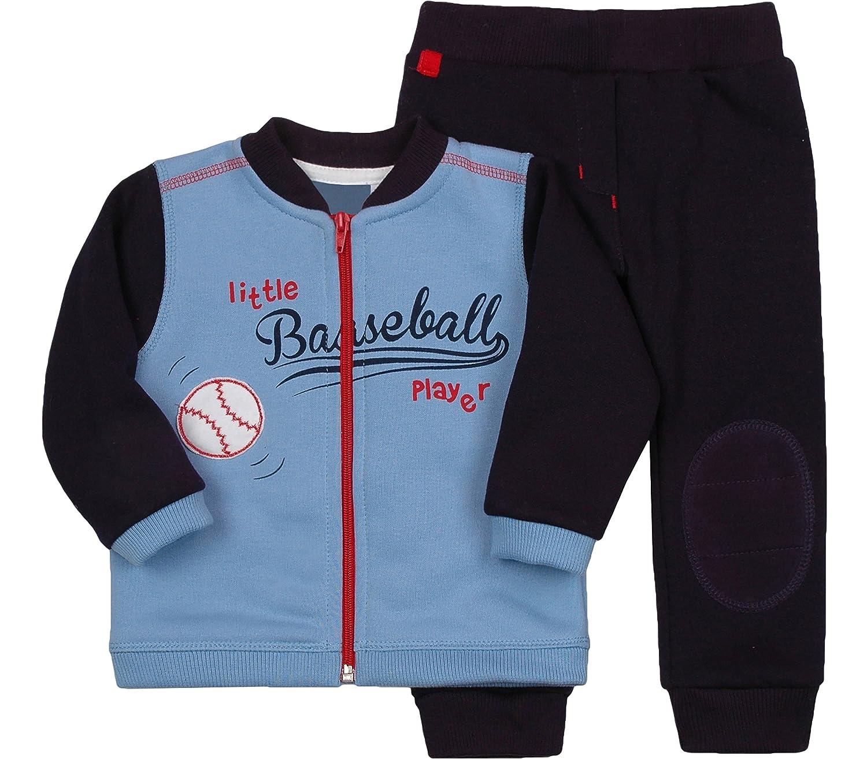 Be Mammy Ensemble Blouson et Pantalon V/êtement B/éb/é Gar/çon Baseball 2311