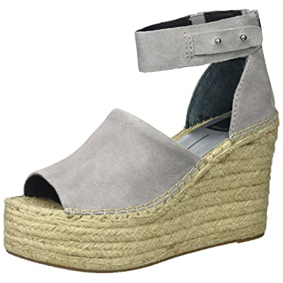 Dolce Vita Women's Straw Wedge Sandal: Shoes
