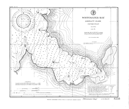Amazon Com Vintography 8 X 12 Inch 1898 Us Old Nautical Map Drawing