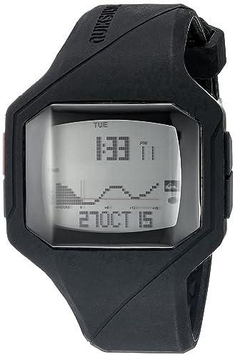 La Addictiv Quiksilver 2,0 Digital para Hombre Reloj Infantil con Mecanismo de Pantalla Digital Coronado Controls y Negro Correa de Silicona QS/1023blk: ...